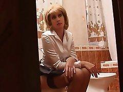 Hardcore Mature Russian Stockings