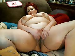 BBW Masturbation Mature MILF Webcam