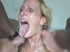 Amateur Big Boobs Cum in mouth Mature Threesome