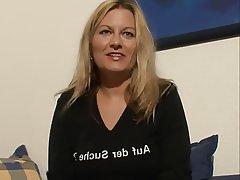 German Blonde Masturbation Mature MILF