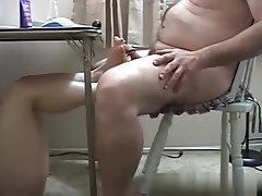Blowjob BBW Mature Footjob Saggy Tits