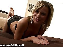 Blonde Blowjob Mature MILF Pornstar