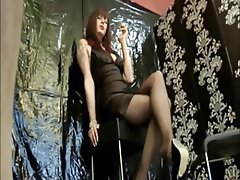 Handjob Masturbation Mature MILF Stockings