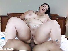 BBW Big Boobs Big Nipples Student