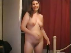Amateur Hairy Mature MILF Shower