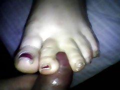 Amateur BBW Foot Fetish Homemade Babe