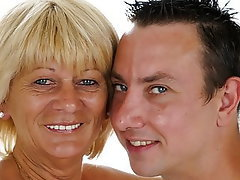 Blonde Mature Old and Young Granny Mature