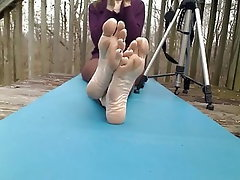 Amateur Mature POV Foot Fetish Mistress