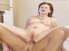 Anal Mature Redhead Old and Young Granny