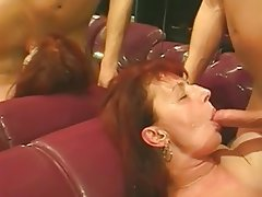 Blowjob Cumshot Mature Old and Young