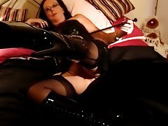 Mature MILF POV Stockings