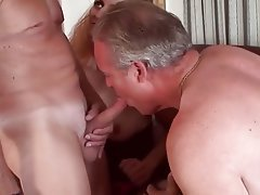 Bisexual Mature Threesome