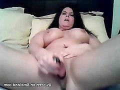 Big Tits Mature MILF Toys