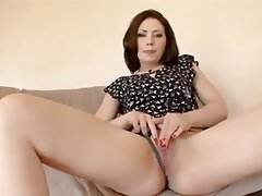 Masturbation Mature MILF Squirt Stockings