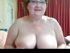 Big Boobs Granny Masturbation Webcam