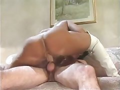 Facial MILF Old and Young Pornstar Vintage