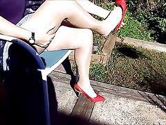 Amateur Granny Mature Pantyhose Stockings