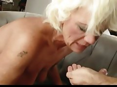 Blowjob Cumshot Hairy Mature Old and Young